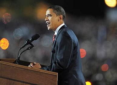 Obama é o primeiro negro presidente dos Estados Unidos