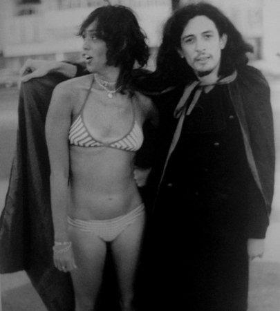 Scarlet Moon e Torquato, no filme Nosferatu no Brasil. Clique na imagem e veja o filme