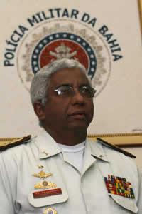 O coronel PM Jorge Santana comandou a corporação de janeiro de 2003 a agosto de 2008