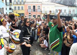 Neguinho do Samba - com cover de Michael Jackson - 08-2009