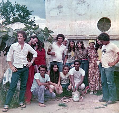 Reunião na casa de Dona Mera - 05-11-1980