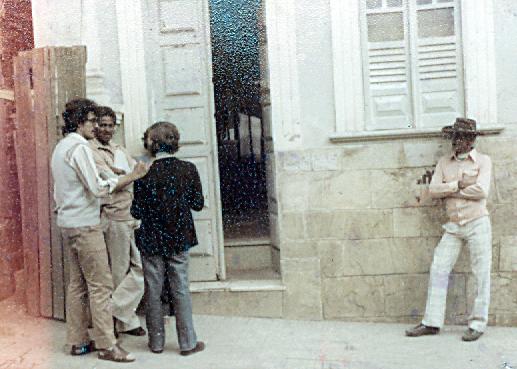Reunião no fórum em 1980 - Luciano Popó - Fernando Zamilute e Paulo Rocha