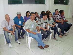 Público no Centro Espírita Antônio Cruz