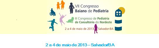 Congresso de Pediatria - Sétimo