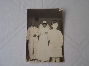 Zelito, em foto de 16 de agosto de 1966, no casamento de sua filha Geralda Souza Silva