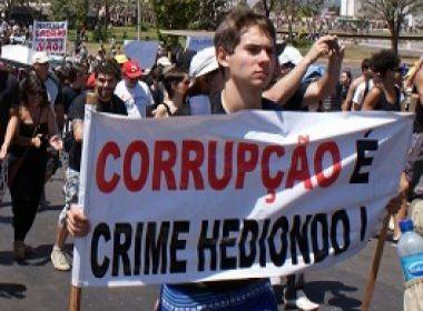 Corrupção é crime hediondo