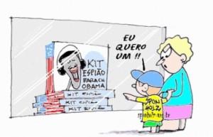 Kit espião Obama - Sponholz