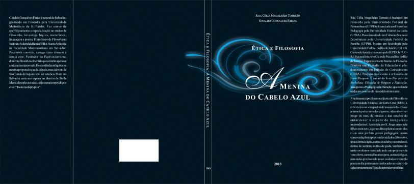 """Livro """"Ética e Filosofia – A Menina do Cabelo Azul"""""""