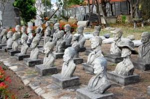 Cajaíba - esculturas