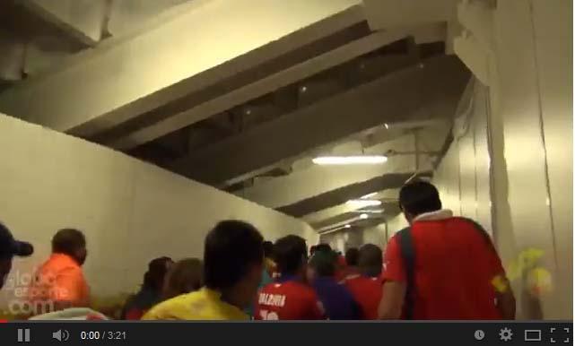 Invasão de chilenos no Maracanã