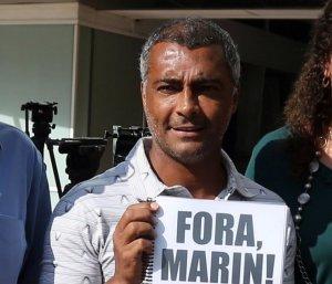 Romário - fora Marin