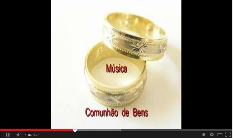 Nattinho - música Comunhão de Bens