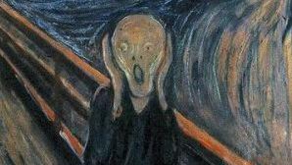 O Grito - Tela do pintor norueguês Edvard Munch