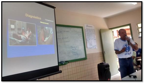 Dr. Venceslau fez palestra nas escolas