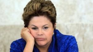 Dilma Rousseff - preocupada