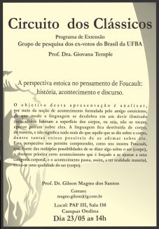 Panfleto Circuito dos Clássicos 23-05-2015