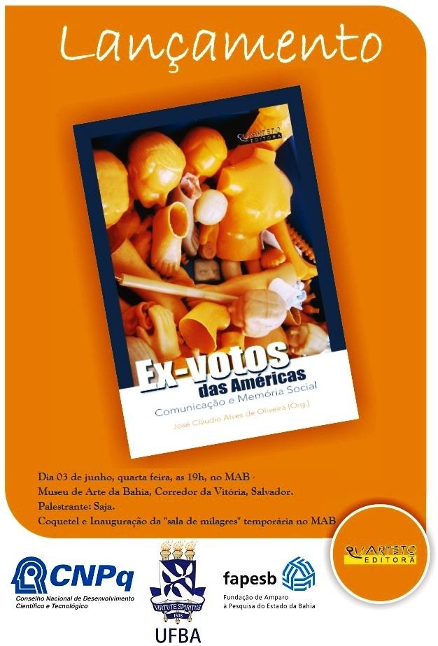 Livro Ex-votos das Américas Comunicação e memória social