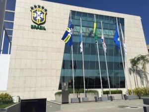 Sede da CBF sem o nome de Marin - Foto: Cahê Mota