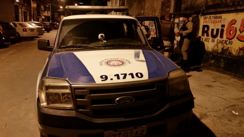 Local da agressão contra o jornalista Marivaldo Filho
