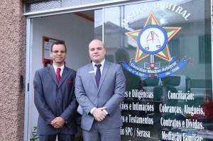 Advogados Edson da Silva Góes Junior e João Batista dos Santos Figueiredo - Foto Divulgação
