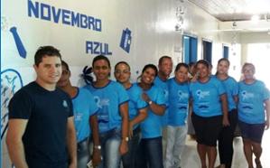 Equipe municipal engajada na Novembro Azul