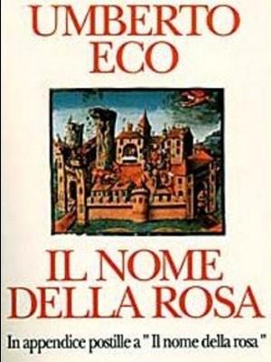 Capa de edição italiana de 'O nome da rosa' (Foto: Divulgação)