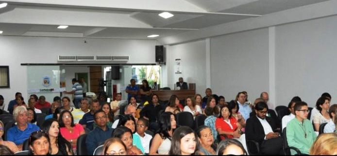 Câmara Municipal de Conquista mulheres em 9 de março de 2016