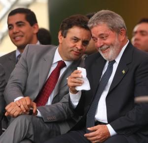 Aécio e Lula