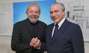 Lula e Temer