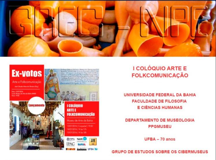 I Colóquio Arte e Folkcomunicação - 1