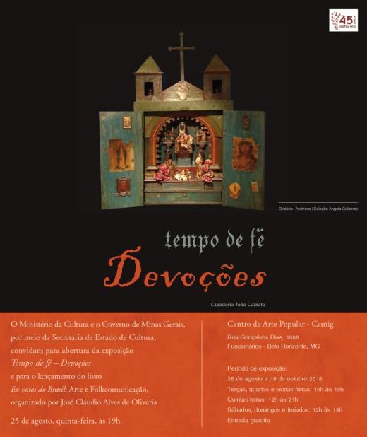 Seminário - Fé e Devoção - convite - capa