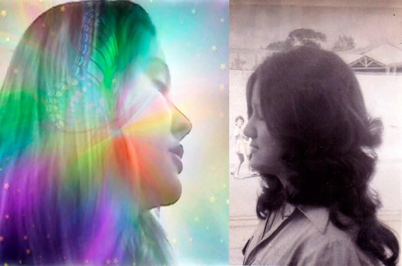 Simone em 2014 e em 1974