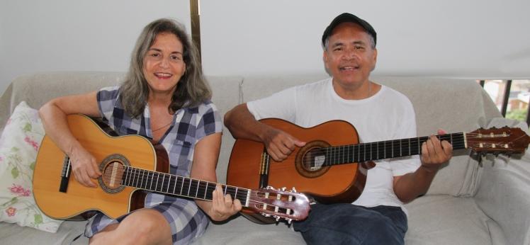 Rita Tavarez e Rudnei Monteiro - foto Gregory Baratoux